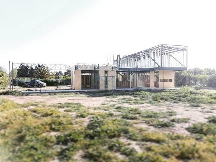 Casa Los Maitenes de Liray (Chicureo): Casas de estilo  por Incubar: Arquitectura & Construcción