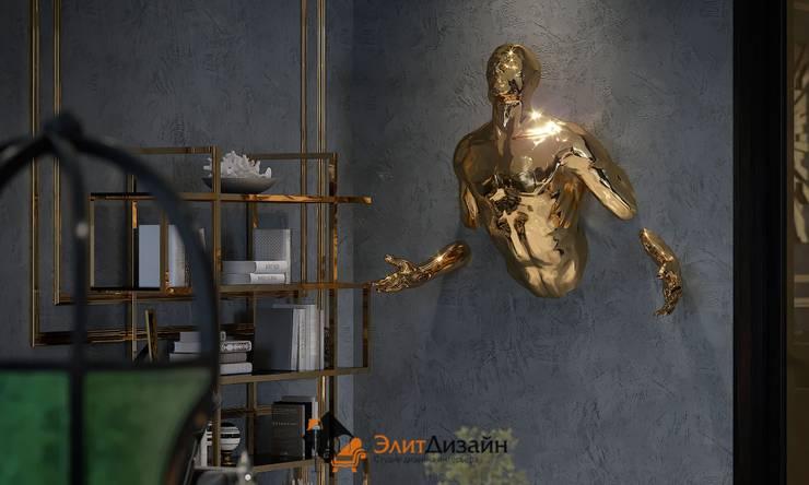 Living room by ЭлитДизайн - студия дизайна интерьера