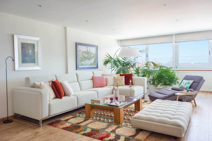 غرفة المعيشة تنفيذ Marisol Manrique de Lara