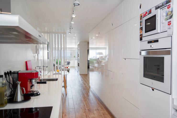 مطبخ تنفيذ Marisol Manrique de Lara