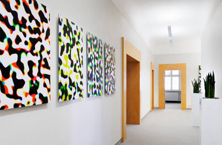 THEOPARK Rechtsanwalts und Steuerkanzlei:  Geschäftsräume & Stores von Marius Schreyer Design