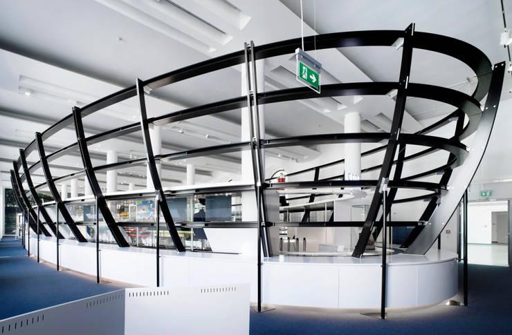 Ausstellungsraum Schiffsrumpf :  Museen von Marius Schreyer Design