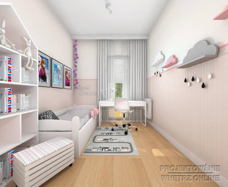 Projekt Pokoju Dziecięcego Elza من تنفيذ Projektowanie Wnętrz