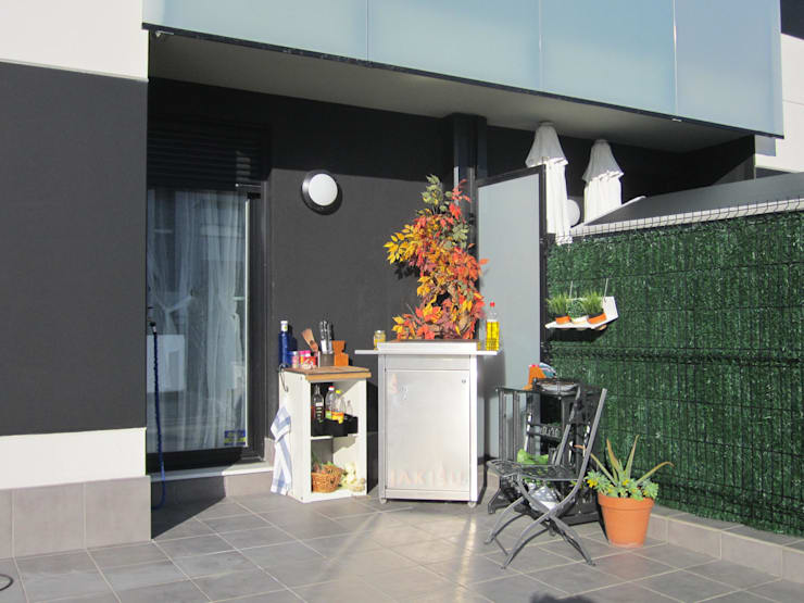 Projekty,  Ogród zaprojektowane przez Jakisu