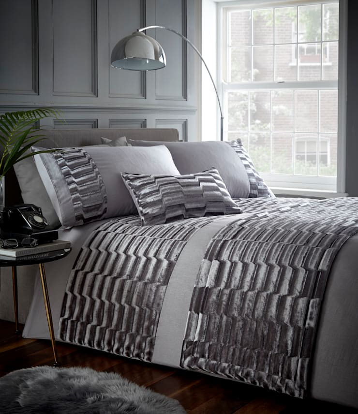 Murray Silver Grey:  Bedroom by Century Mills