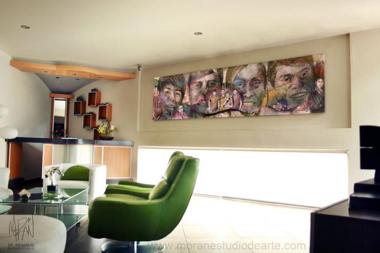 Espacios : Hogar de estilo  por MORAN Estudio De Arte