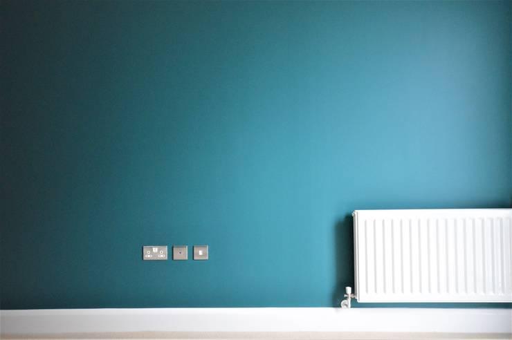 Master Bedroom - home decorators:  Bedroom by Paintforme