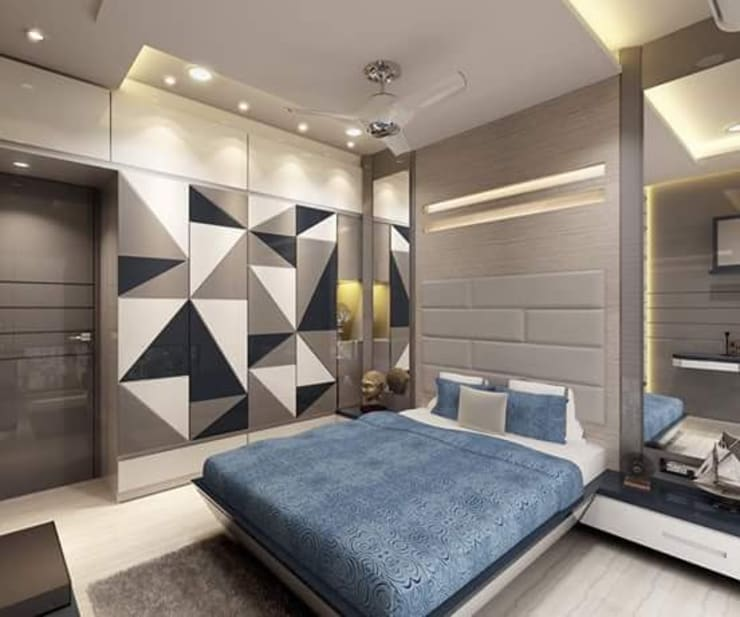 kids bedroom: modern Bedroom by KUMAR INTERIOR THANE