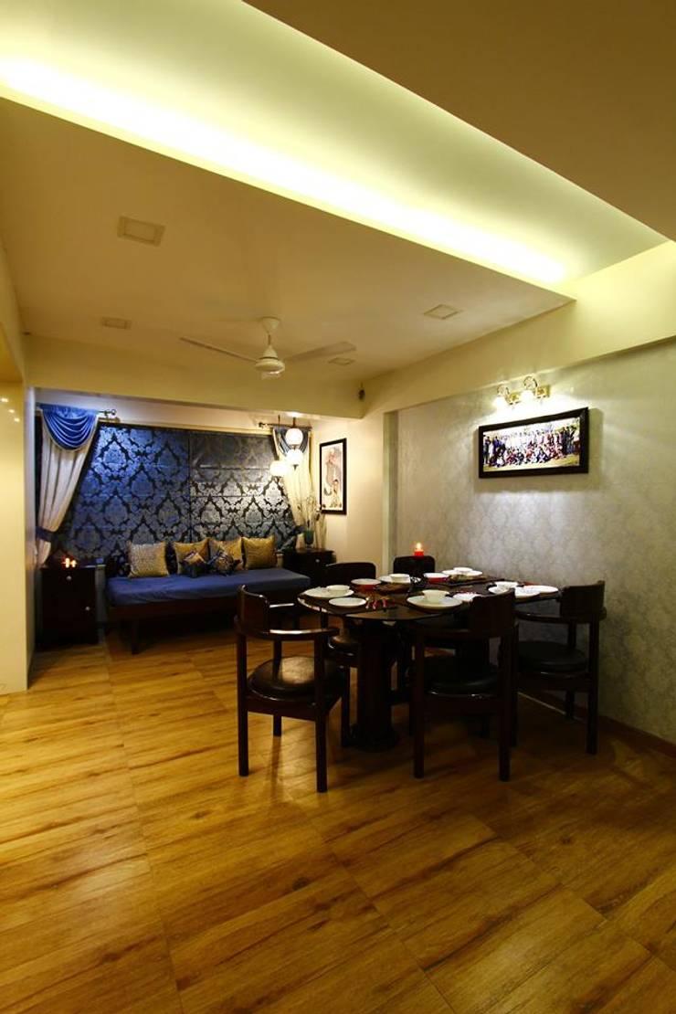 Dr.ramesh/Bhavna Bhanushali :  Dining room by PSQUAREDESIGNS,Modern