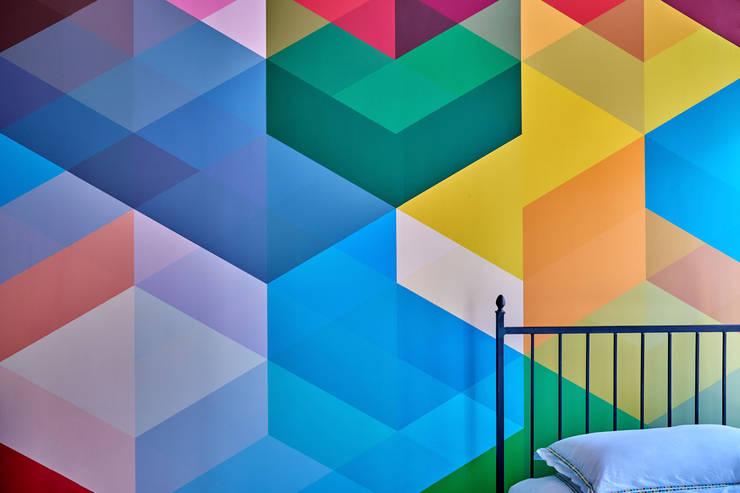 Red Hook Townhouse:  Bedroom by Sarah Jefferys Design