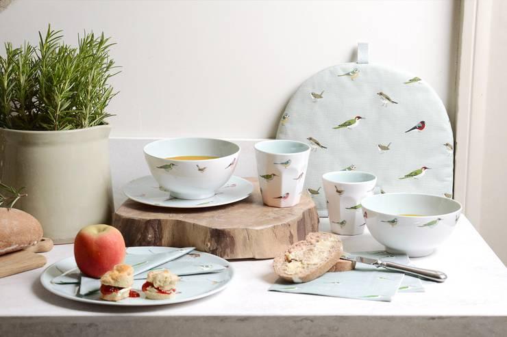 Sophie Allport Garden Birds Collection:  Dining room by Sophie Allport