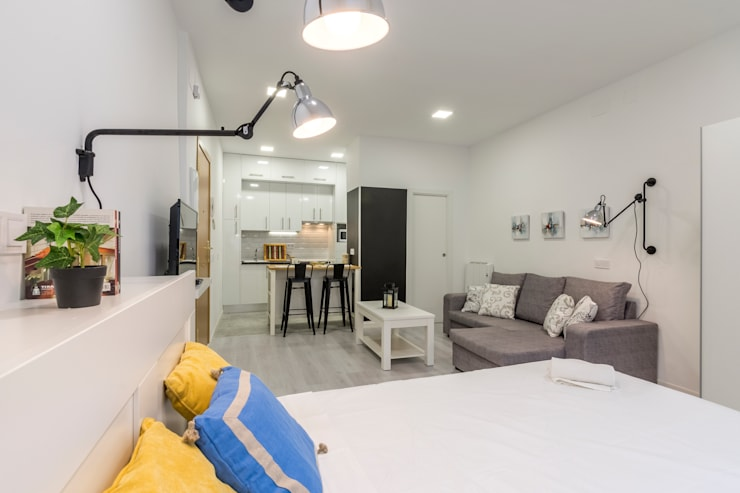 La magia del Home Staging - Proyecto de Home Staging en Madrid: Hogar de estilo  de Dekohuset