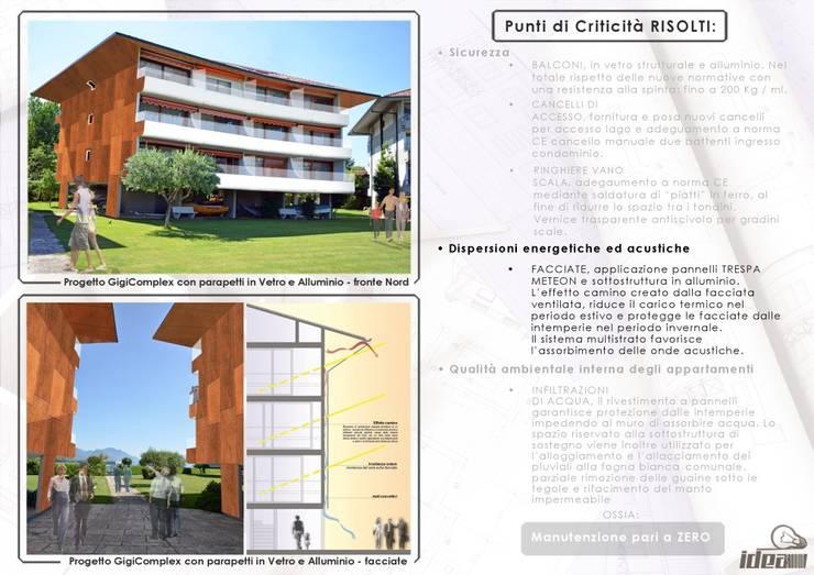 Balconi Esterni Condominio : Ristrutturazione facciata condominio e balconi a como