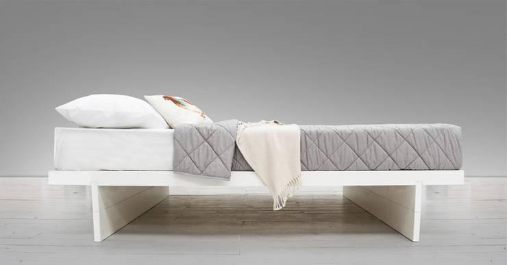 Japanese Fuji Platform Storage Bed No Headboard Bedroom By Get Laid Beds