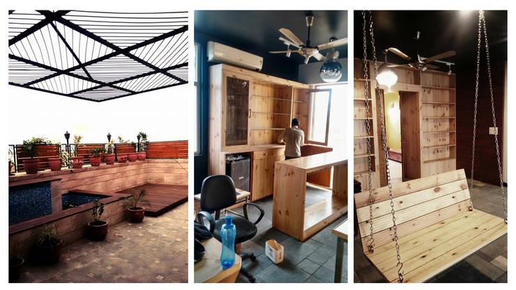 Apartment + Terrace Garden | Noida:  Terrace by Inno[NATIVE] Design Collective