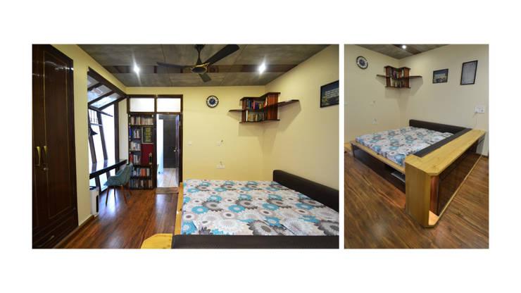 Apartment | Delhi:  Bedroom by Inno[NATIVE] Design Collective,Classic