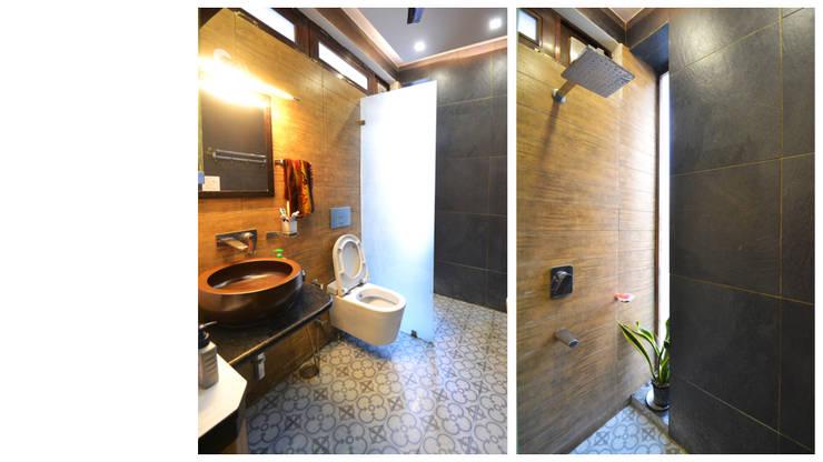 Apartment | Delhi:  Bathroom by Inno[NATIVE] Design Collective,Classic