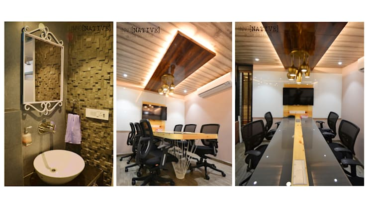 Office | Barakhamba Road:  Offices & stores by Inno[NATIVE] Design Collective,Modern