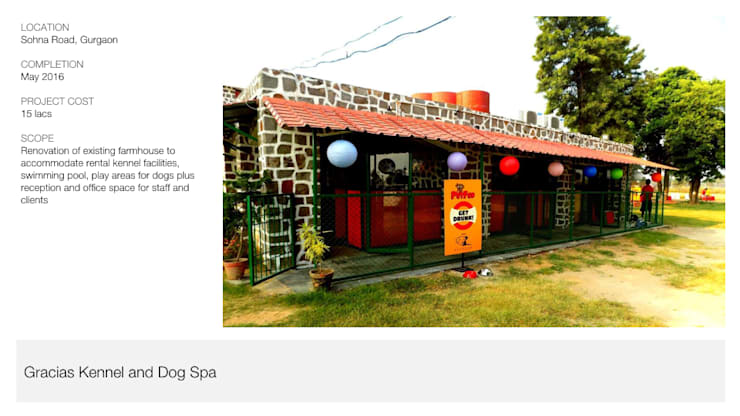 Dog Kennel + Spa | Gurgaon:  Commercial Spaces by Inno[NATIVE] Design Collective