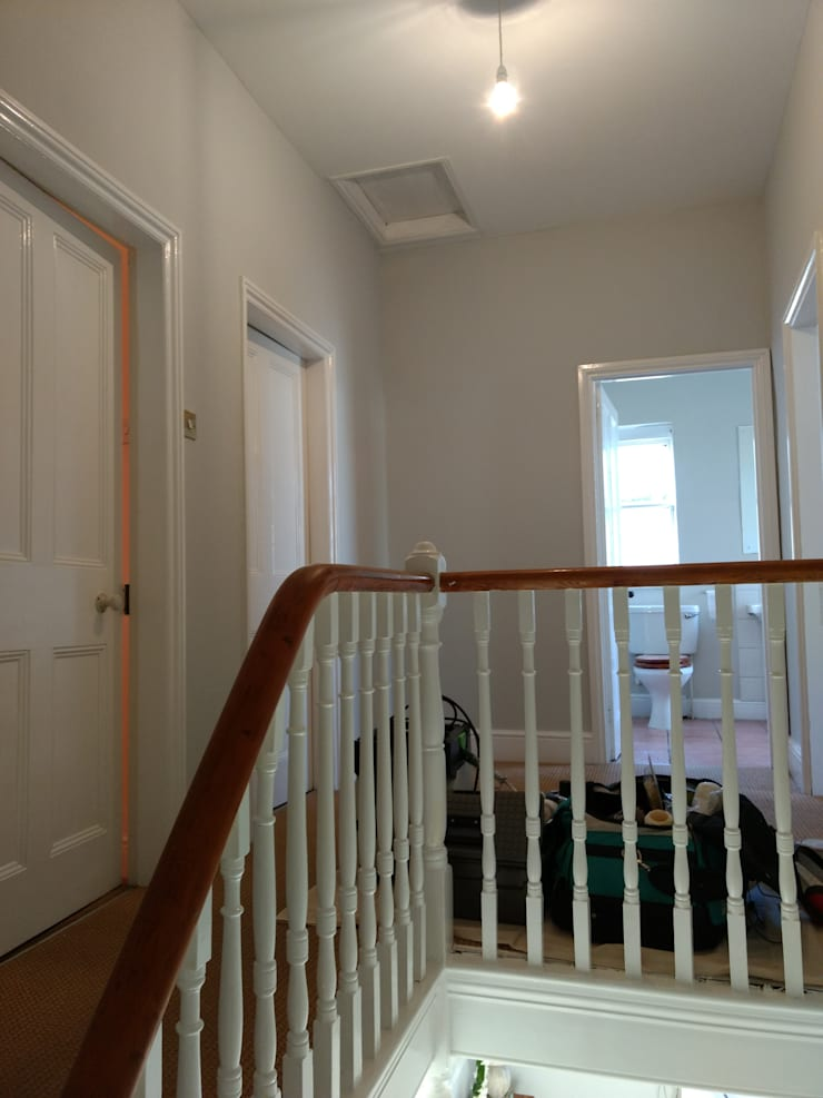 Corridor & hallway by Polly Millard, Interior Decorater