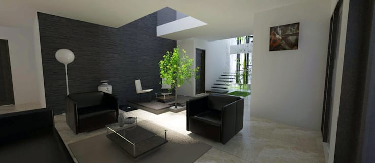 Living:  Living room by Space Alchemists