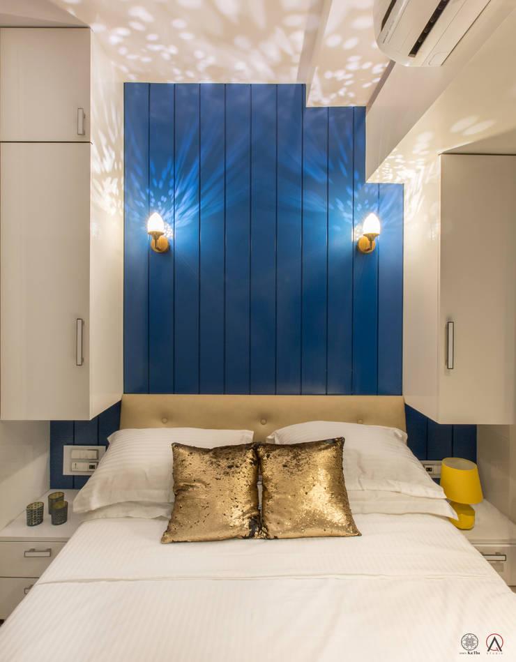 Apartment for Mr & Mrs Merchants, Mazgaon: modern Bedroom by Design Ka:Tha