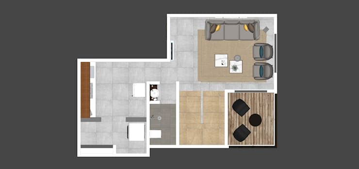 Ground floor plan:  Floors by Space Alchemists