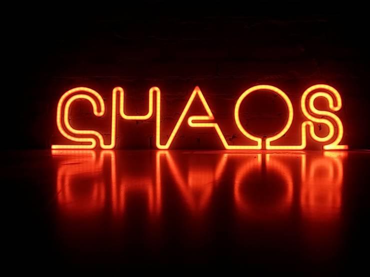 Chaos LEDON NA ZAMÓWIENIE: styl , w kategorii Ściany i podłogi zaprojektowany przez Twórczywo