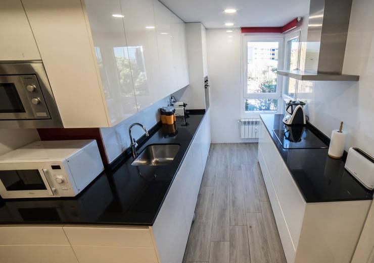 ห้องครัว by Vivienda Sana