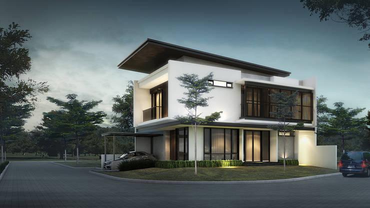 บ้านเดี่ยว โดย perezjanuar architects, โมเดิร์น ไม้ Wood effect