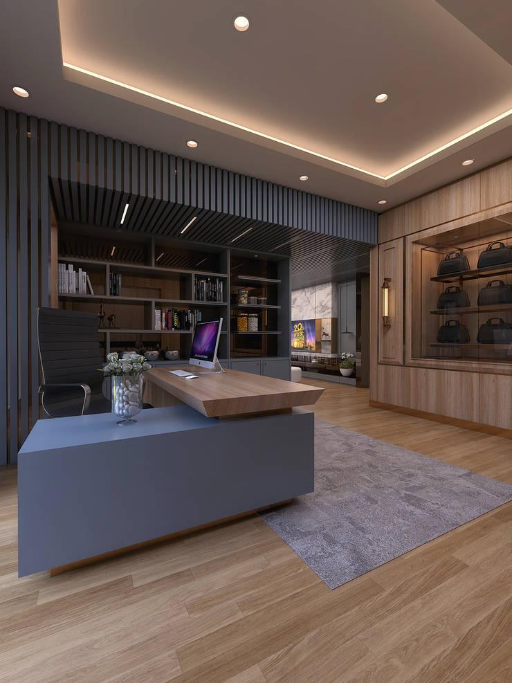 Study room: modern Study/office by Magna Mulia Mandiri