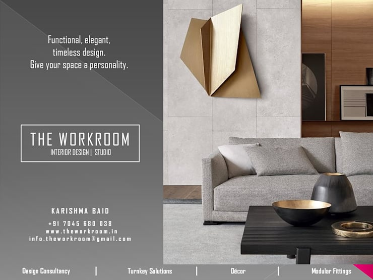 The Workroom: modern Bedroom by The Workroom