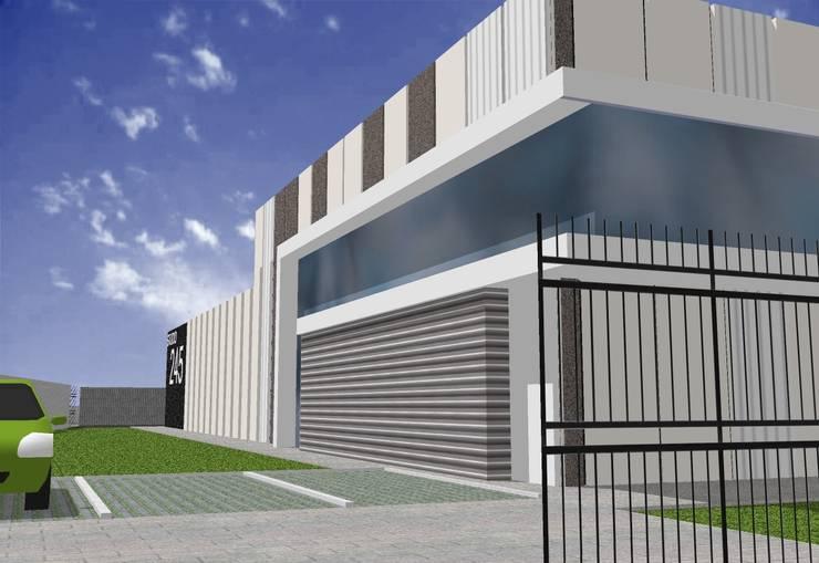 Anteproyecto Studio 245:  de estilo  por Incubar: Arquitectura & Construcción