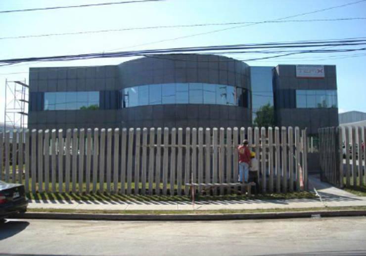 Oficinas y Bodegas Tefix : Casas de estilo  por Incubar: Arquitectura & Construcción