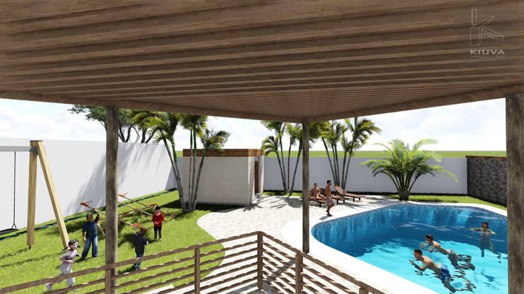 Vista Terraza: Anexos de estilo  por Kiuva arquitectura y diseño