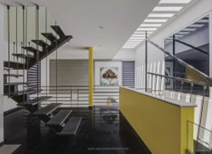 The Daylight Home | Luxurious 40×60 West Facing House Plans Design:  Corridor & hallway by aaaa