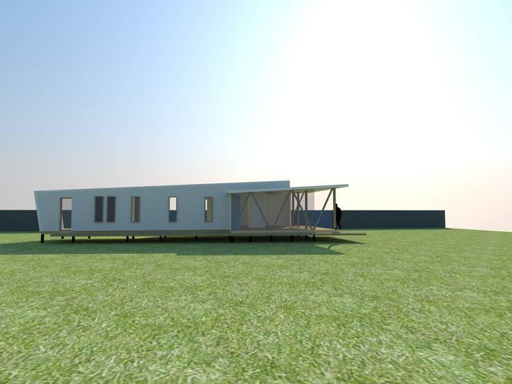 CASA WORMULL/NYLEN :  de estilo  por Incubar: Arquitectura & Construcción