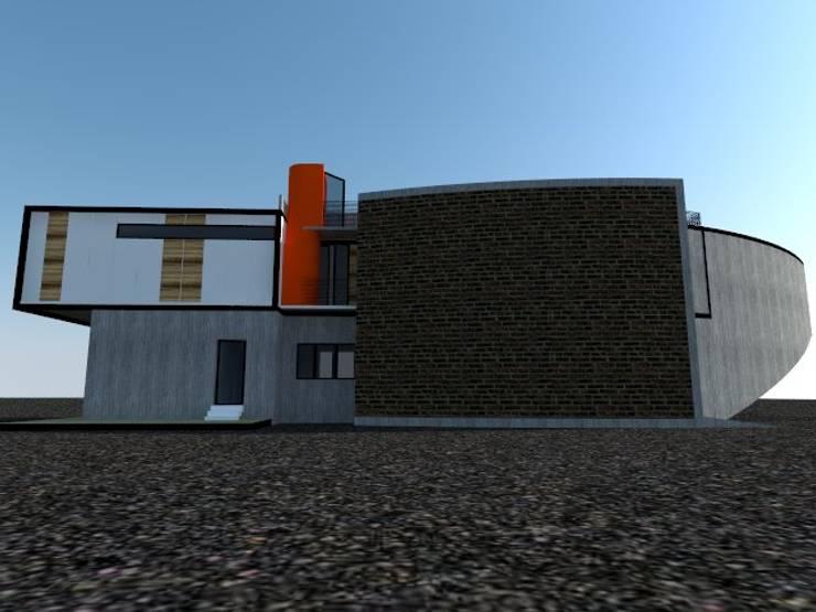 CASA SANTA ESTER:  de estilo  por Incubar: Arquitectura & Construcción