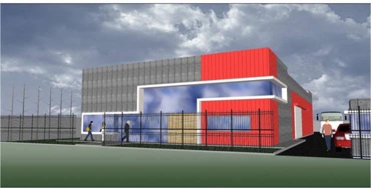 PROTOTIPO 2:  de estilo  por Incubar: Arquitectura & Construcción