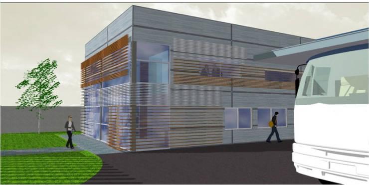 PROTOTIPO 4:  de estilo  por Incubar: Arquitectura & Construcción