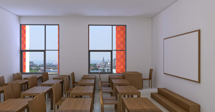 VINCENTIUS school:   by GUBAH RUANG studio