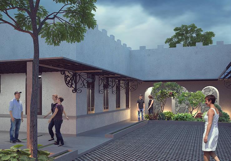 TREINAMENTO school:   by GUBAH RUANG studio