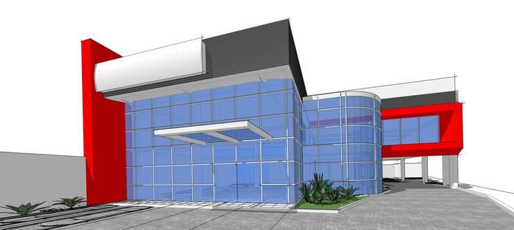 SUZUKI NJS showroom:   by GUBAH RUANG studio