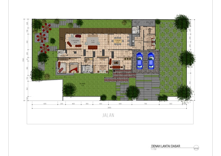 AG residence:   by GUBAH RUANG studio