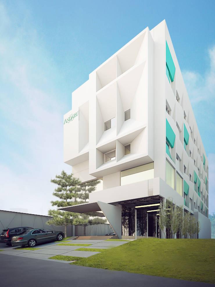 ANDARU hotel:   by GUBAH RUANG studio