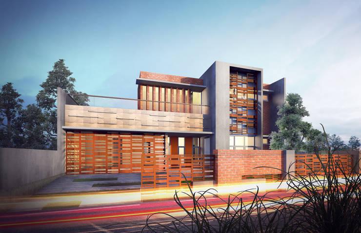 LB Residence:   by GUBAH RUANG studio