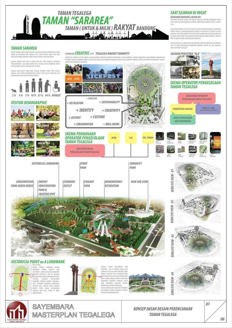 TEGAL LEGA park:   by GUBAH RUANG studio