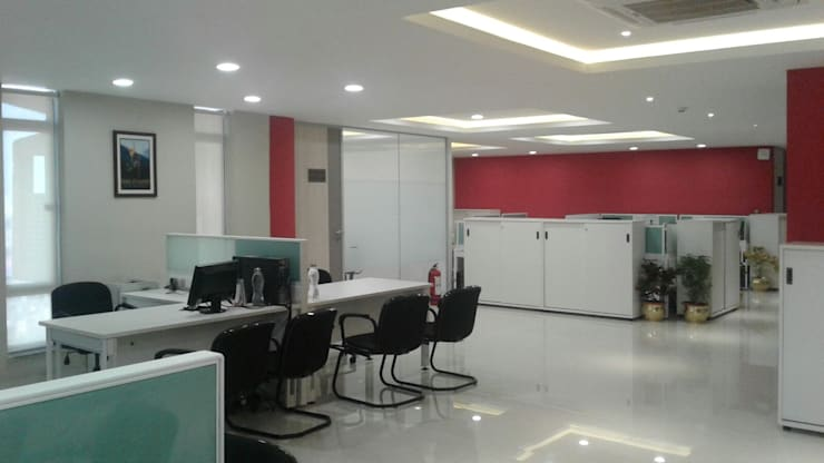 HPCL, Bhuvneshwar Regional Office:  Offices & stores by HOME CITY LIFESTYLE