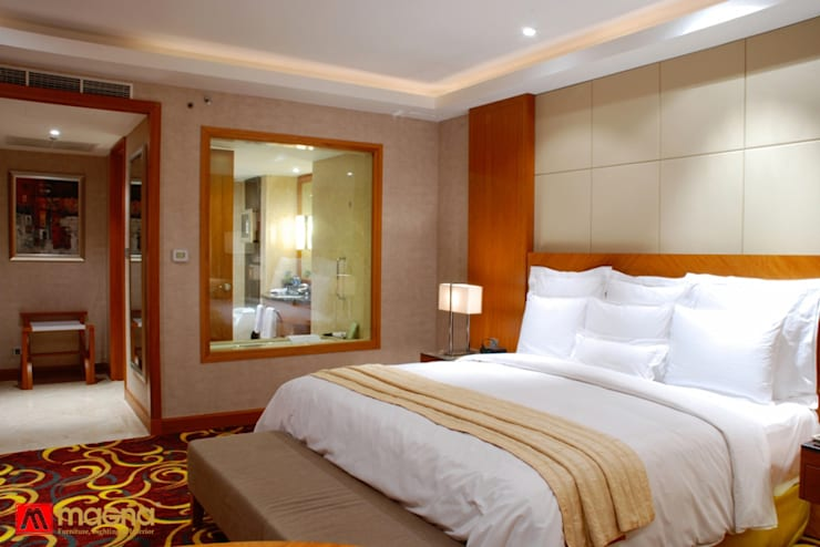 JW Marriot hotel Medan:  Living room by Magna Mulia Mandiri