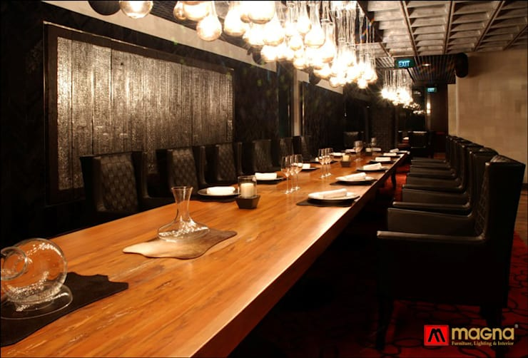 JW Marriot hotel Medan:  Dining room by Magna Mulia Mandiri
